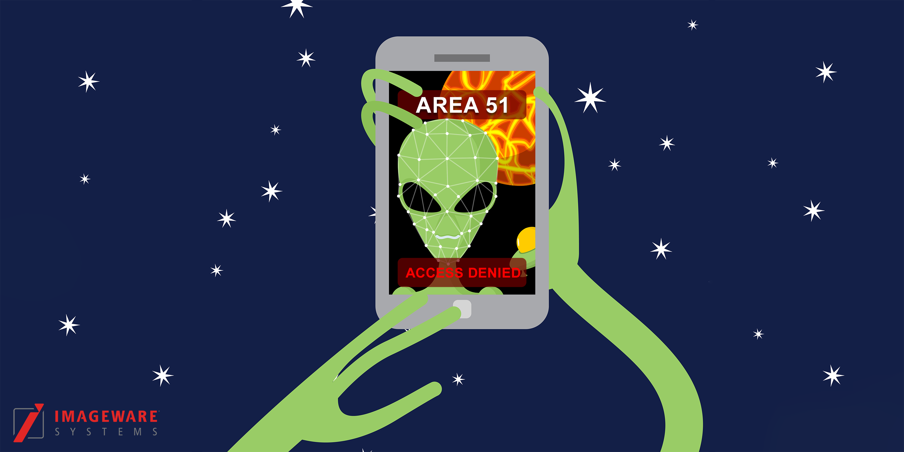 ImageWare Storms Area 51, Emerges with Alien Biometrics